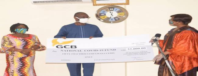 HEAD OF CIVIL SERVICE AND CHIEF DIRECTORS DONATE GHC 52,000 TO COVID19 FUND