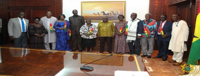 PRESIDENT NANA AKUFO-ADDO HAS INAUGURATED CIVIL SERVICE COUNCIL